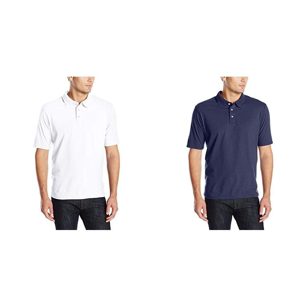 9b12fff116dfe Hanes Men s X-Temp Performance Polo Shirt (1 Pack or 2 Pack)    See the  photo link even more details. (This is an affiliate link).  Clothing   MensClothing