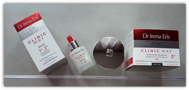 Clinic Way – apteczne kosmetyki przeciwzmarszczkowe Dr Irena Eris – moje pierwsze wrażenia ~ Lepsza wersja samej siebie