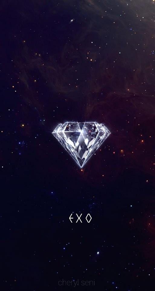 Pin Oleh Exo Di Exo Wallpaper Ponsel Latar Belakang Gambar Background exo galaxy wallpaper