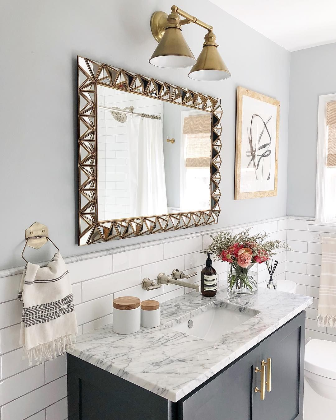 Wall color is Sherwin Williams Gray Screen paintcolor