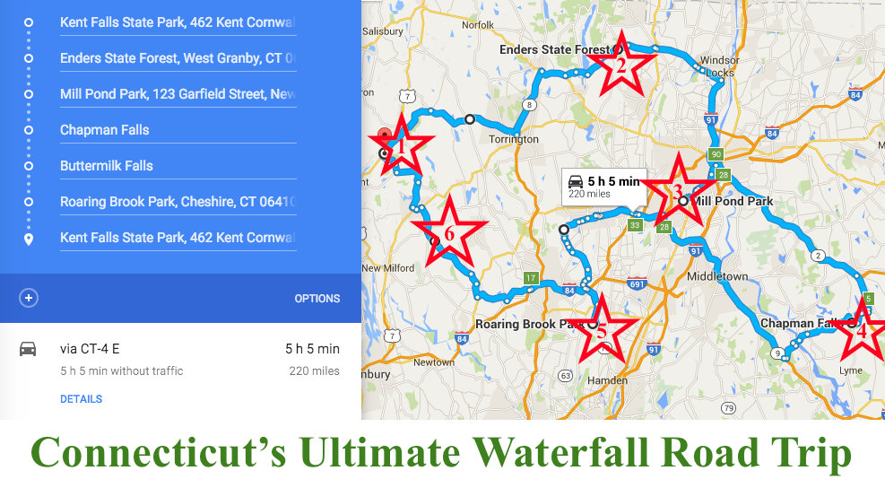 The Ultimate Connecticut Waterfalls Road Trip Is Right Here And - Road map of connecticut