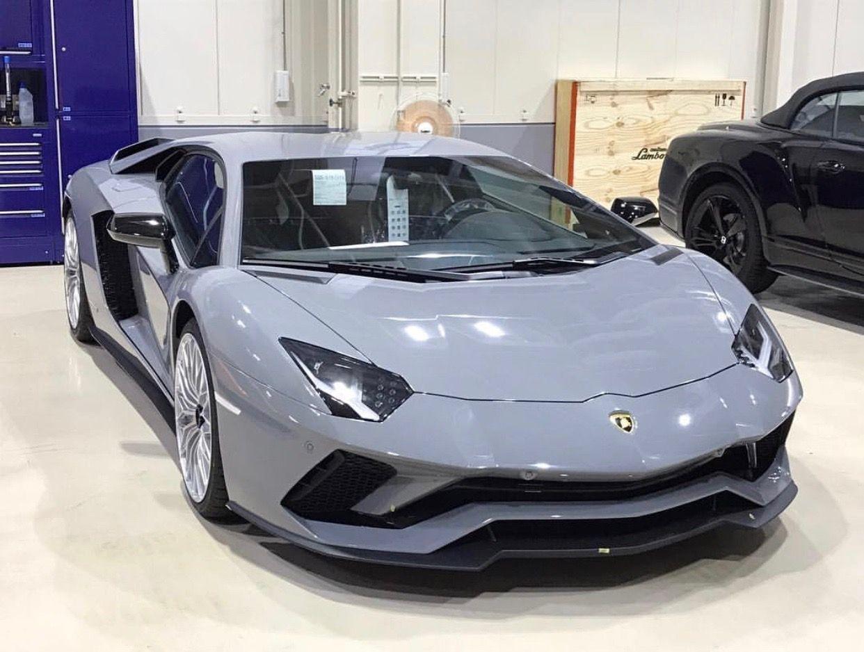 Lamborghini Aventador S Painted In Nardo Grey Photo Taken By Raoki On