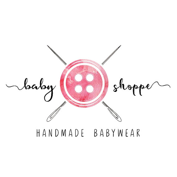 Premade logo design sewing floral logo button sew stitch tailoring premade logo design sewing floral logo button sew stitch tailoring handmade clothes logo watercolor custom business card branding pl117 logos thecheapjerseys Images