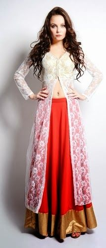 Front Open Long Double Shirts Designs with Palazzo for ...