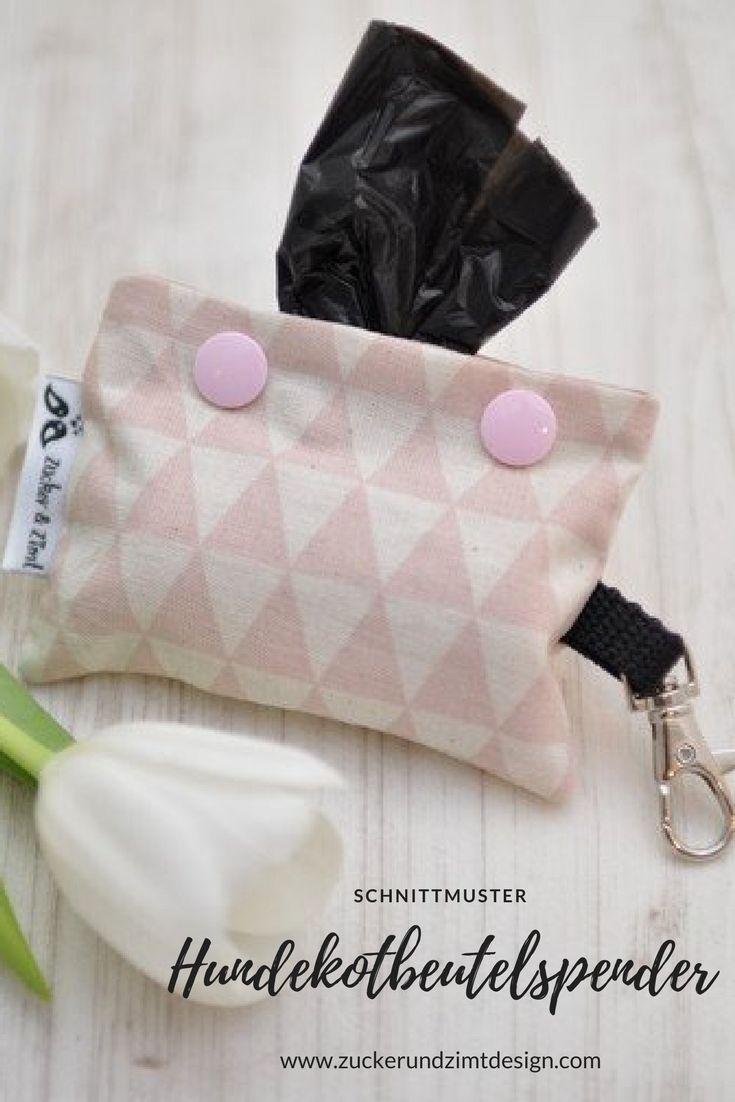 Patron de couture || Distributeur de sacs à déchets pour chien [eBook] – Design sucre et cannelle   – Nähen & DIY für Hunde II Gruppenboard