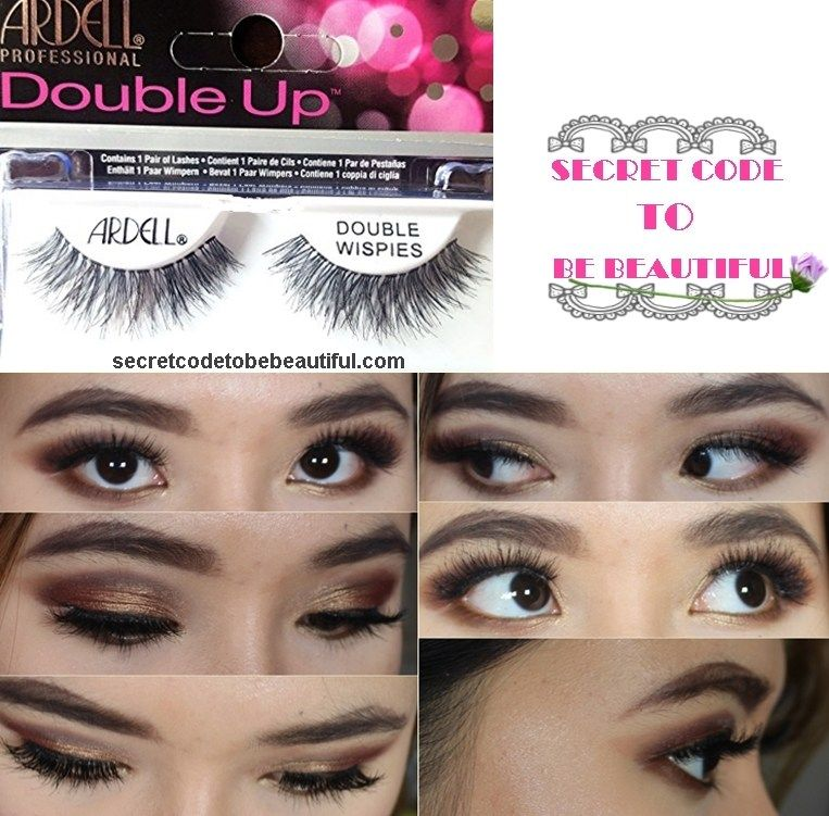 bc190bcb09c Ardell Double Up Wispies | Makeup | Lashes, Ardell lashes, Wispy lashes
