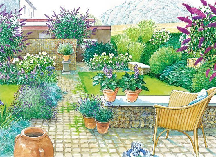 Vom Einheitsgrün zum Blumengarten Garten, Blumengarten