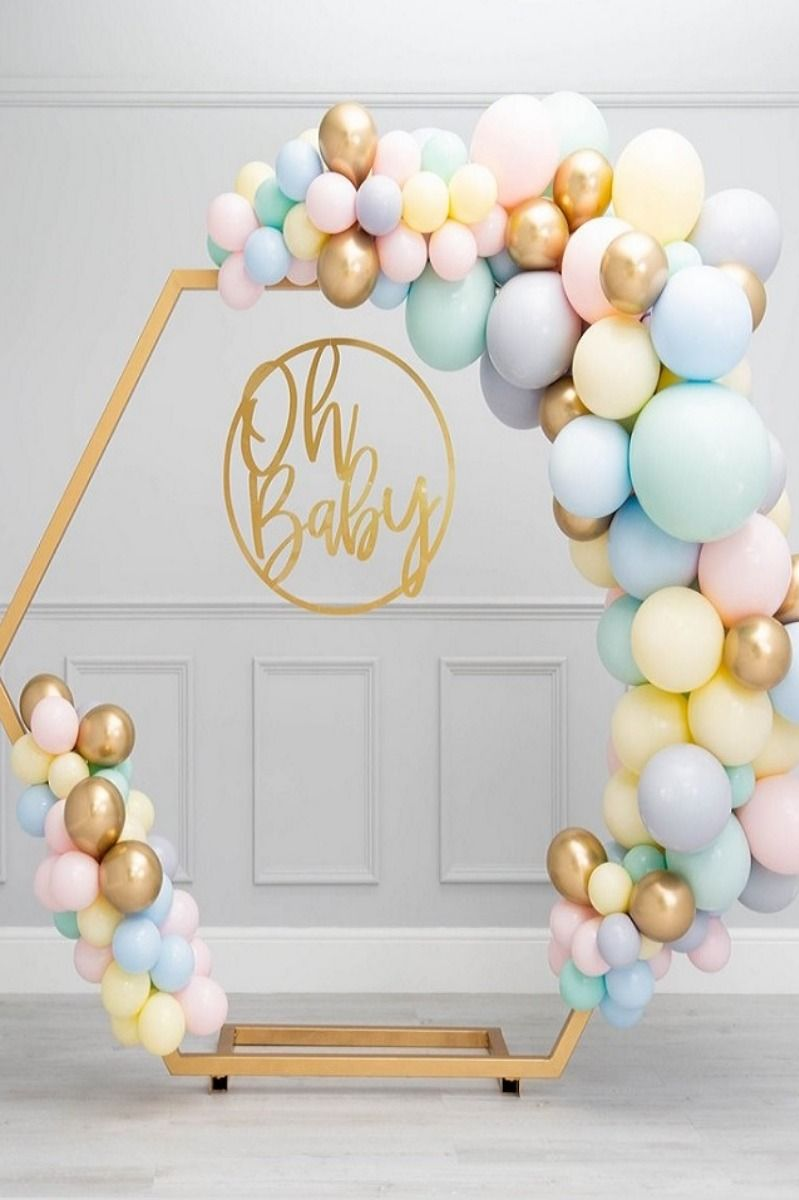 Baby Shower Balloons Decoration Party Ideas New Baby In 2020