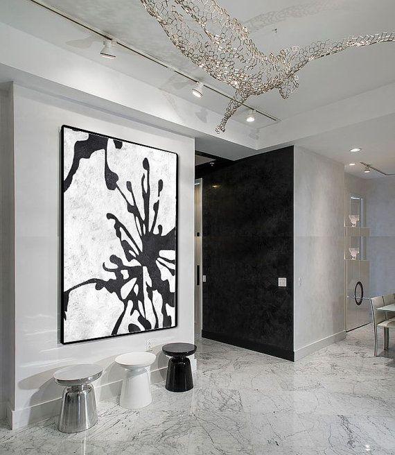 norme abstraite peinture sur toile toile verticale extra large wall art abstract art fleur. Black Bedroom Furniture Sets. Home Design Ideas