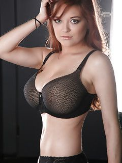 Busty lingerie photos
