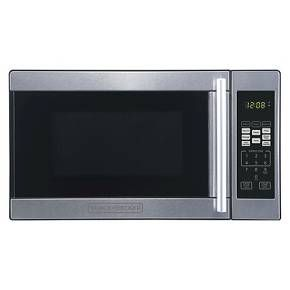 Black Decker 0 7 Cu Ft 700w Microwave Oven Black Em720cpn P 700 Watt Microwave Microwave Oven Black Decker
