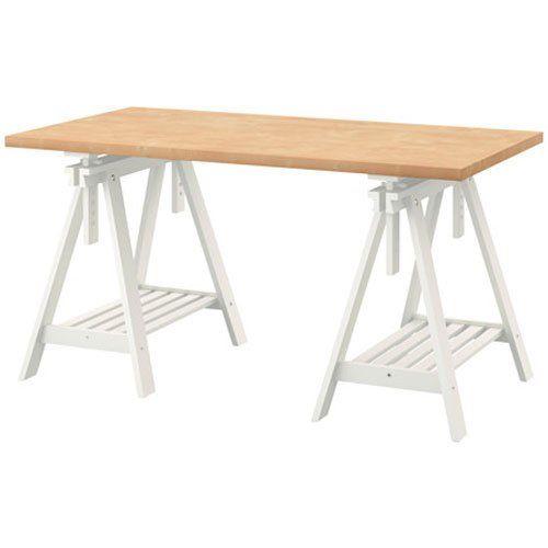 Amazon Com Ikea Linnmon Birch Effect Desk Table 59x30
