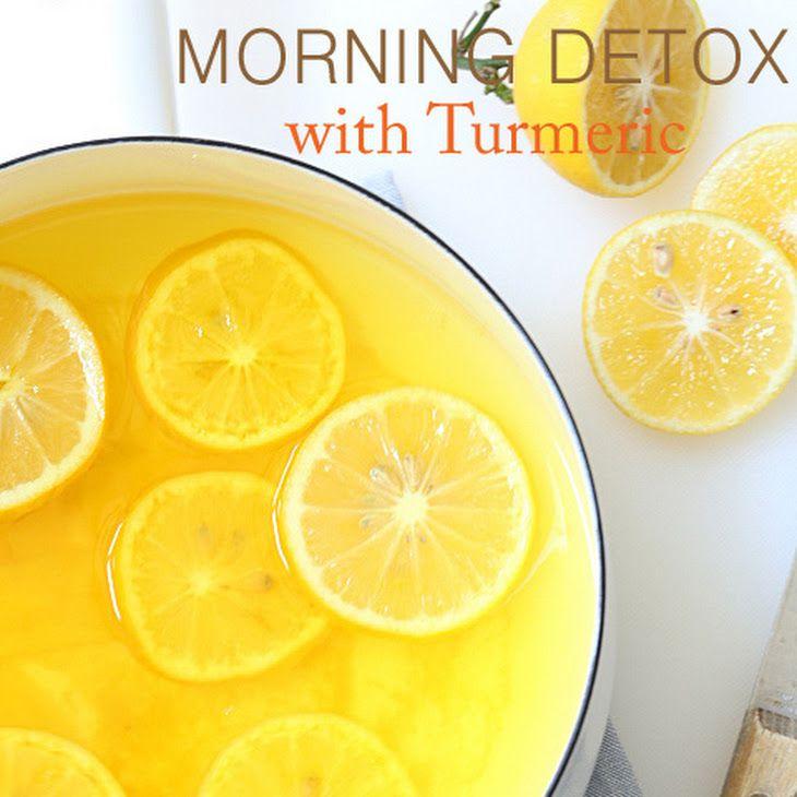 Lemon Ginger Morning Detox Drink