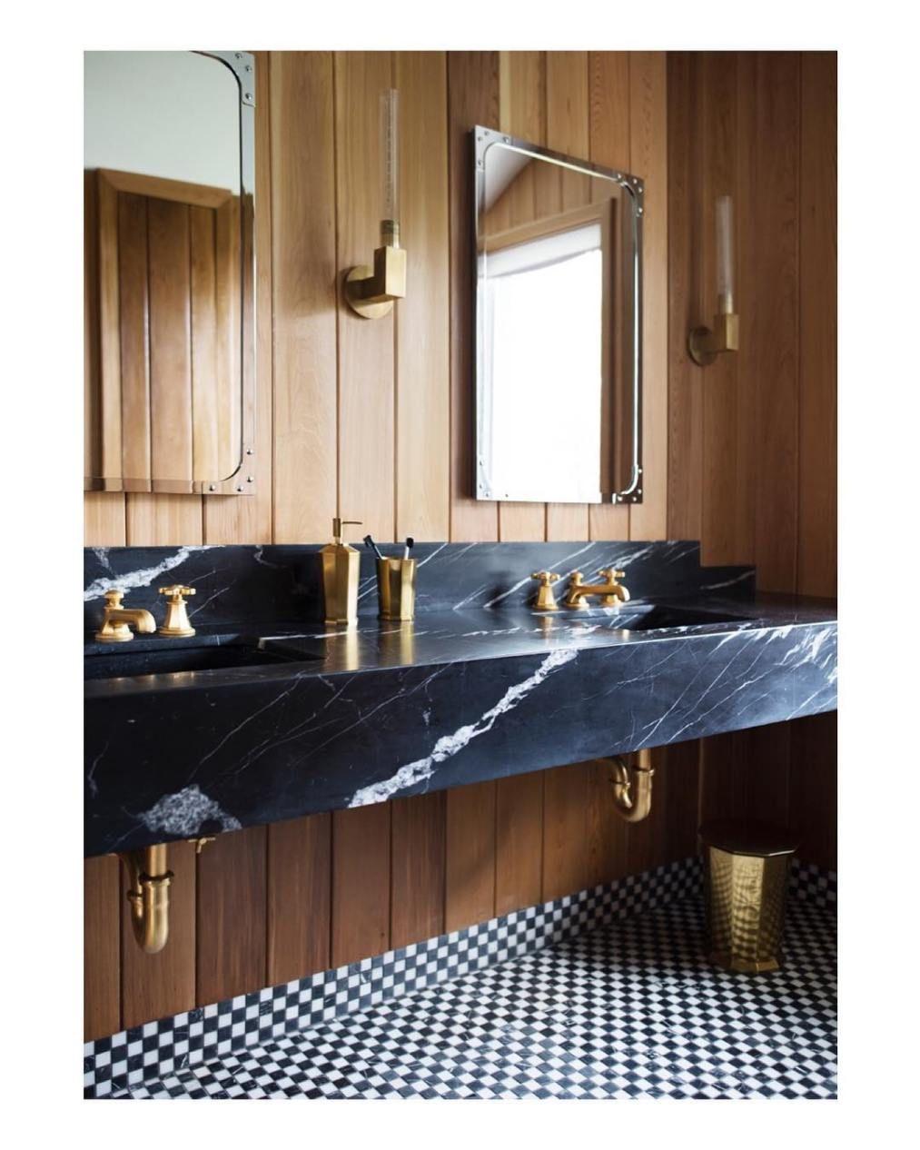 Raw And Refined Bathroom Interior Bathroom Trends Bathroom