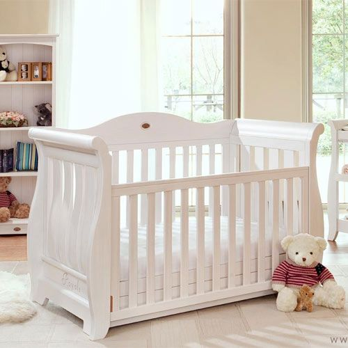 Deluxe Baby Sleigh Cots Baby Cots Pinterest Cots Babies And Drawers