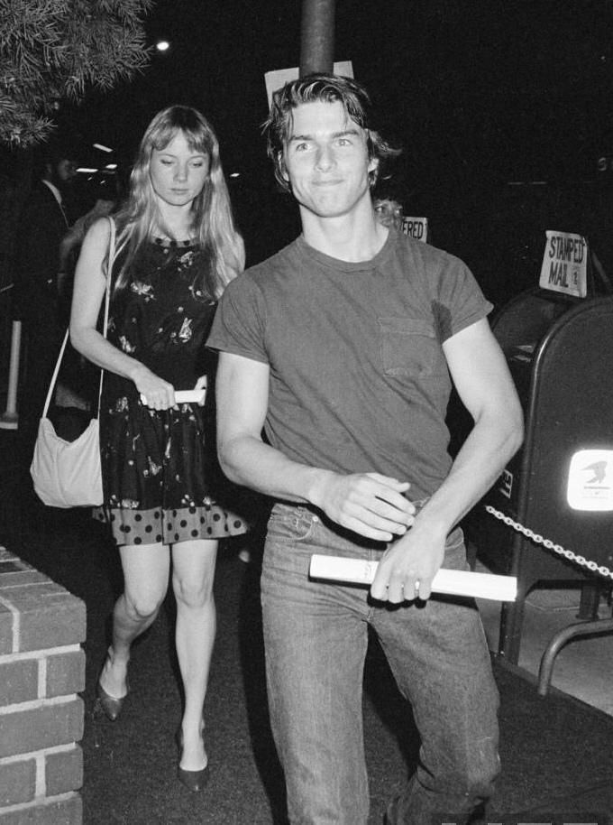 retropopcult:   Tom Cruise and Rebecca De Mornay... - Je vous invite à l'indécence...