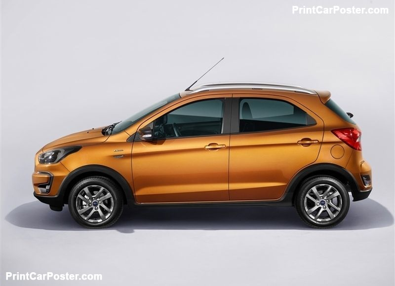 Ford Ka Plus Active 2019 Poster 2019 Ford Ford Suv Cars