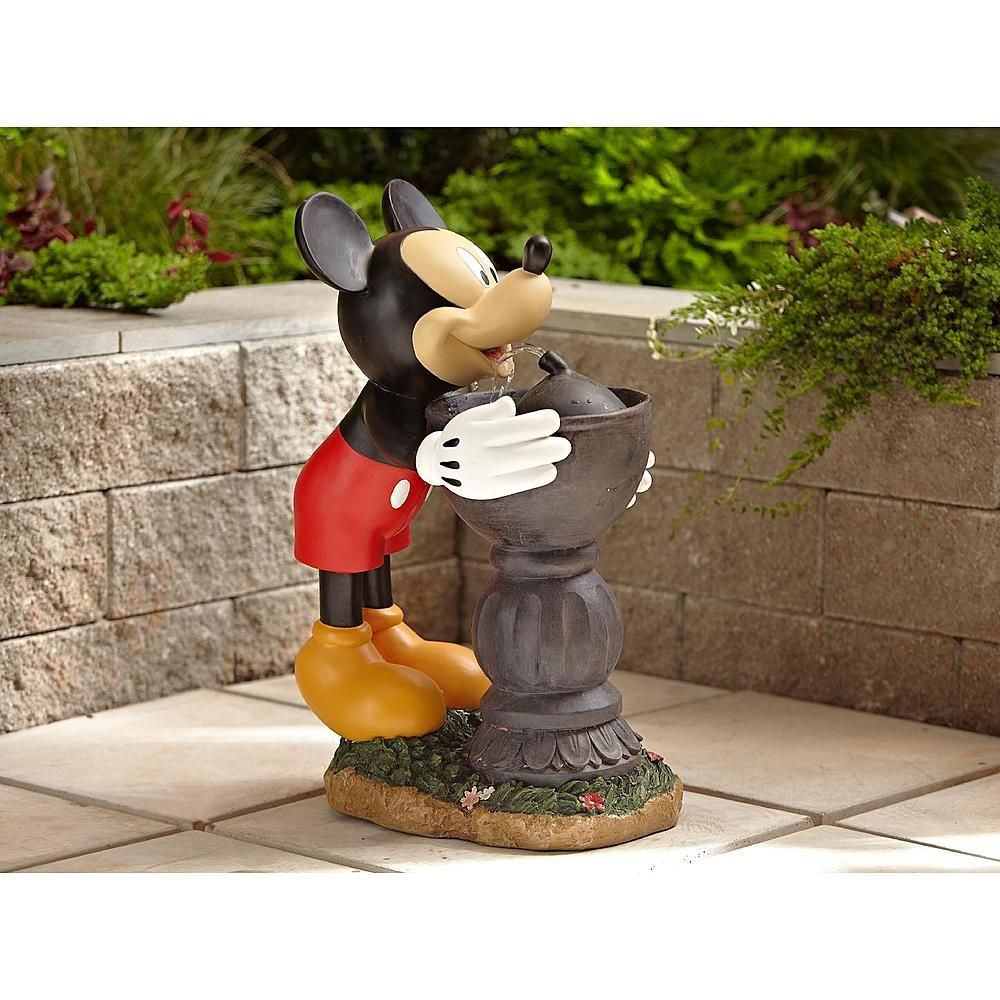 Disney Mickey Drinking Water Fountain From Kmart Mickey Mouse