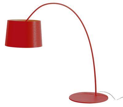 Lampe de table Twiggy Foscarini Rouge design Design