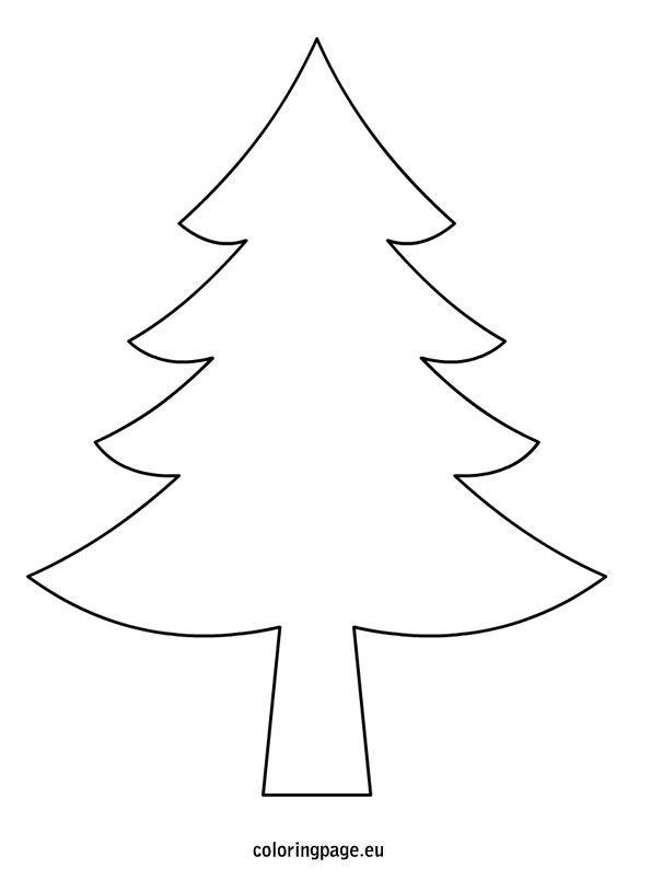 Christmas Tree Drawing Template Christmas Tree Drawing Christmas Tree Outline Christmas Tree Template