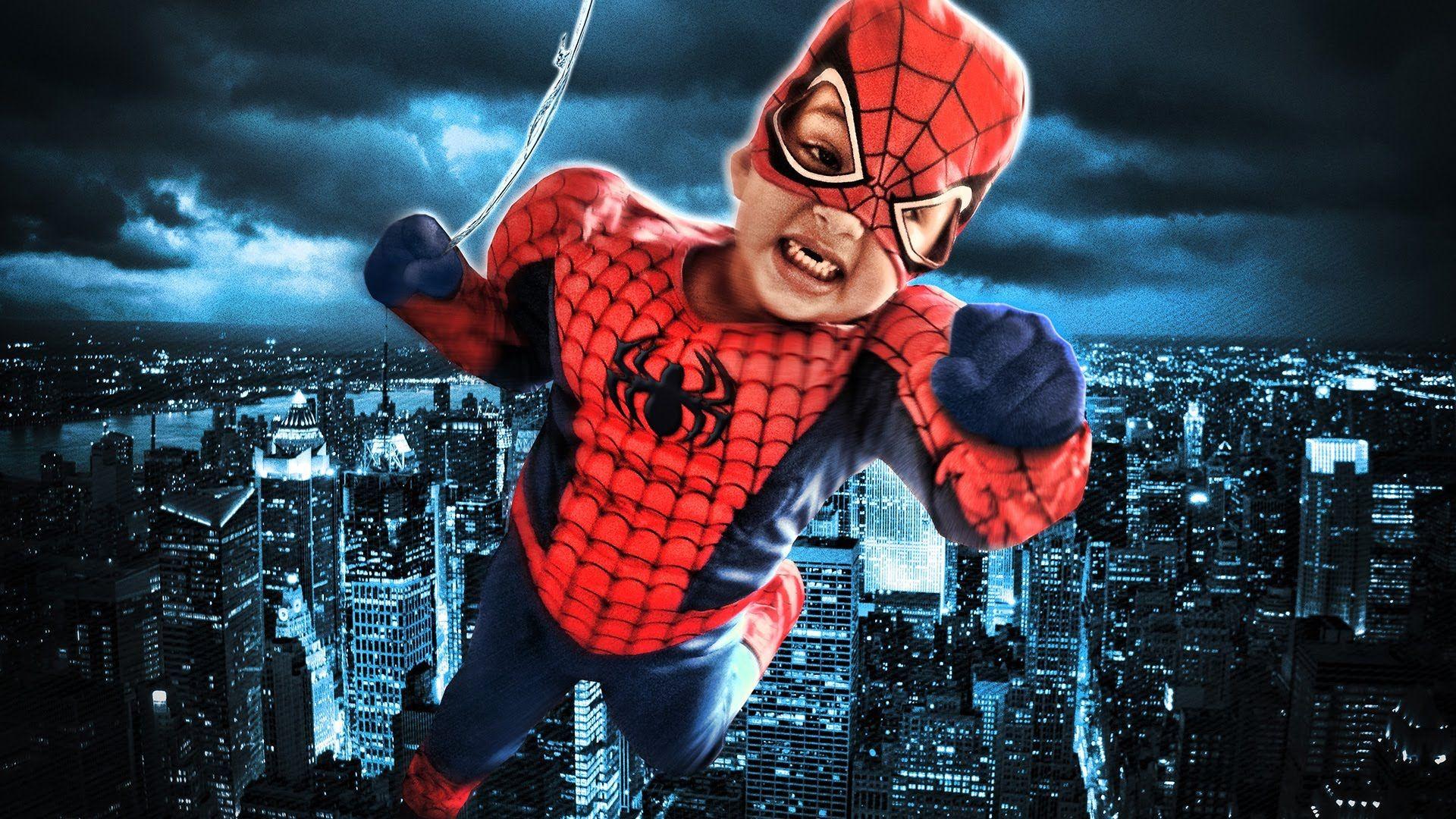 Create a spiderman photo in photoshop photo editing tutorials create a spiderman photo in photoshop photoshop tutorialphoto editingspidermanspider man baditri Images