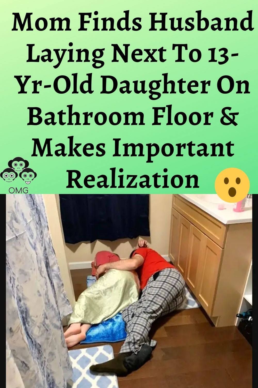Mom Finds Husband Laying Next To 13 Yr Old Daughter On Bathroom Floor Makes Important Realization In 2020 Super Cute Puppies Very Cute Puppies Funny Messages
