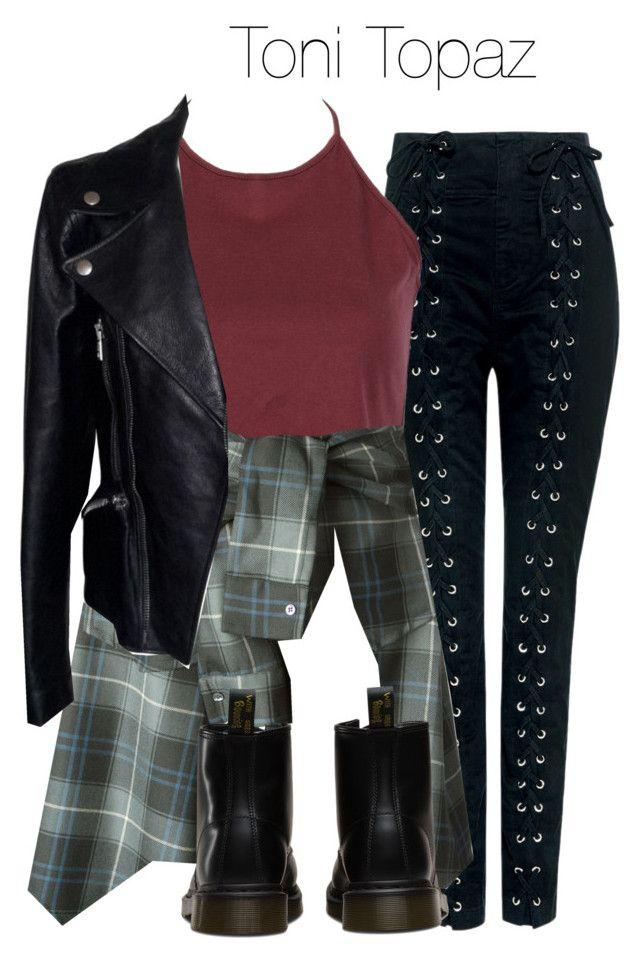 Toni Topaz - Riverdale | Topaz Alexander McQueen and Polyvore fashion