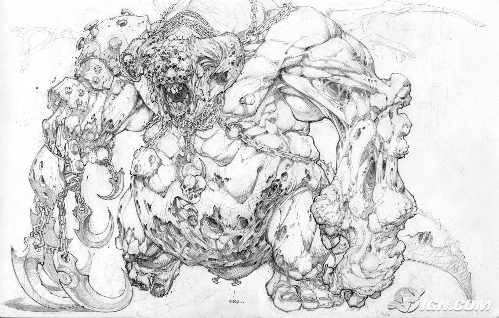 A Wolf Illustrations Blog Joe Madureira Sketchbook Joe Madureira Concept Art Characters Art