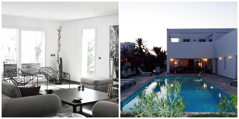 entre tradition et modernit la villa r djerba est r alis e par l 39 architecte samia ben. Black Bedroom Furniture Sets. Home Design Ideas