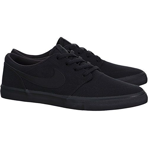 finest selection 0bb45 94a46 Nike Men s Portmore II Solar Cnvs Skate Shoe  A slim, low-profile skate  silhouette Cushioned footbed for added comfort Vulcanized…