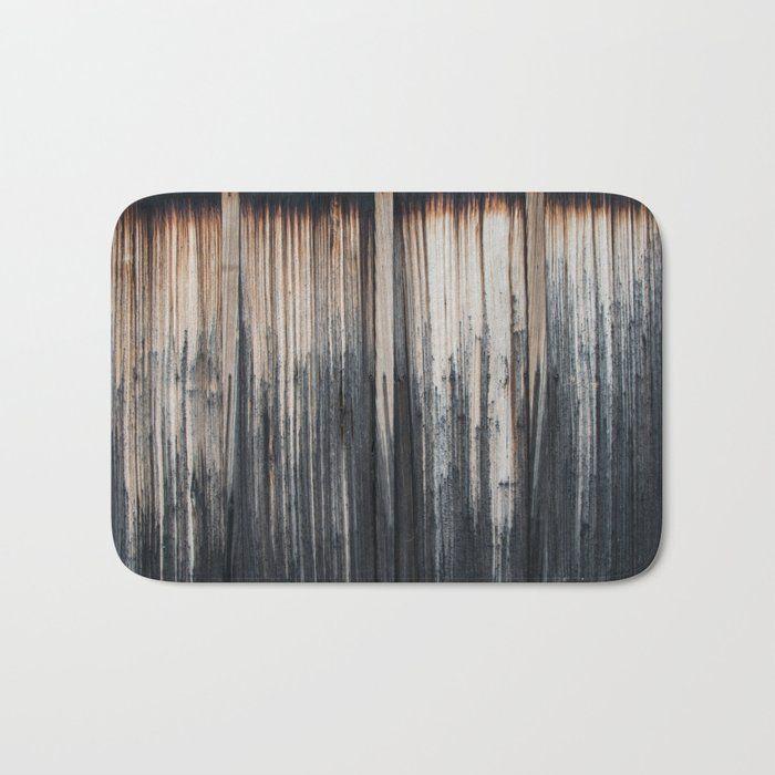 Weathered wood wall Bath Mat by vrijformaatphoto #BathMat #photography #texture #earthtones #wood #wall #vrijformaatphoto #society6 #vfphoto