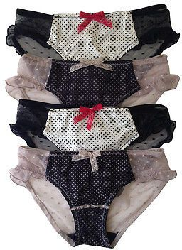 c41a257649eb Jessica Simpson New Authentic 4 8 Pair Lot Women Bikini Brief Panties  Underwear on shopstyle.com