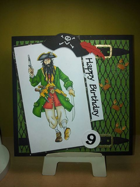 Horrible Histories Putrid Pirate The Only Colourng Page I Could Find Horrible Histories History Birthday Cards
