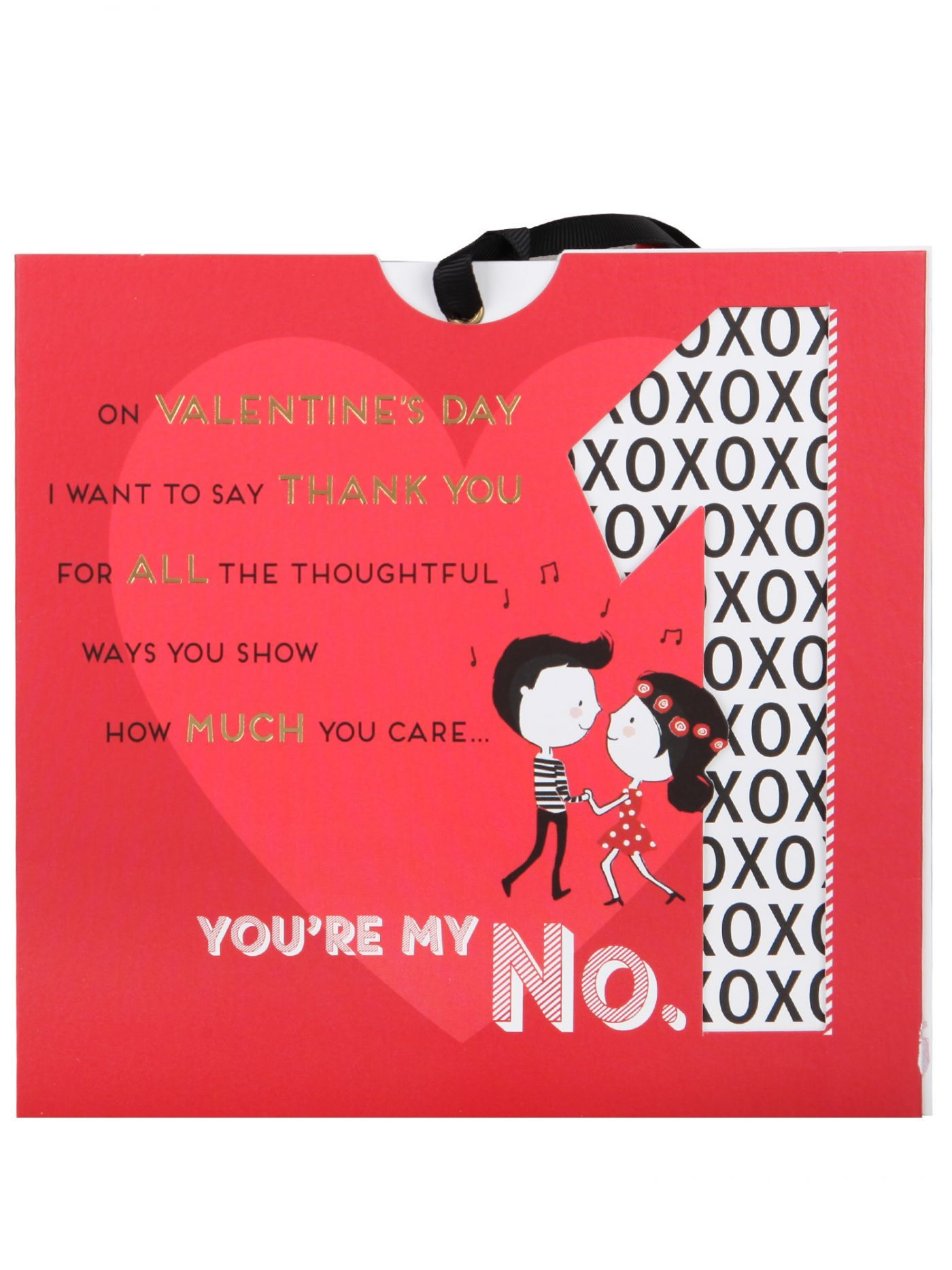You're My No. 1 Valentine's Day Keep Sake Card - Cards - Valentines   Clintons