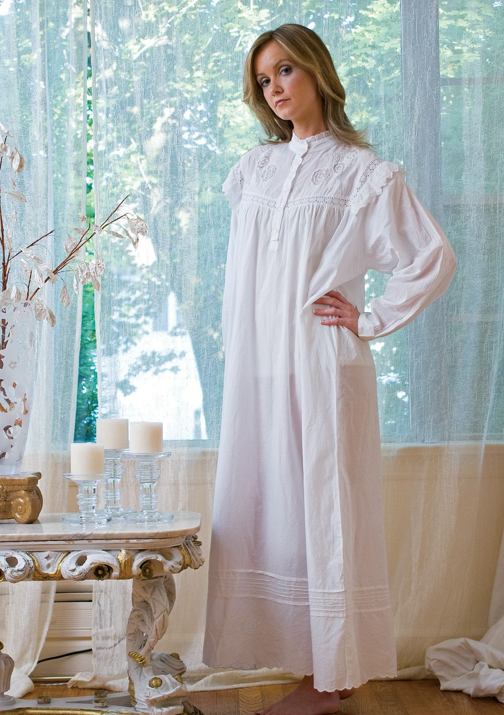 c57eefe581 Victorian nightgown. Victorian nightgown Cotton Nighties