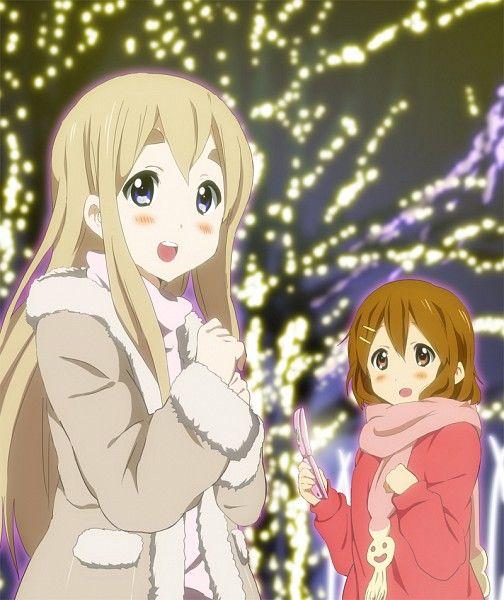 Tags: Anime, K-ON!, Hirasawa Yui, Kotobuki Tsumugi, Hatasuke