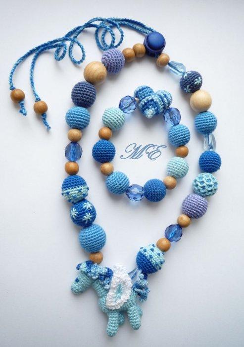 Amigurumi Jewelry Patterns : collana-di-palline Palline all uncinetto: come fare una ...