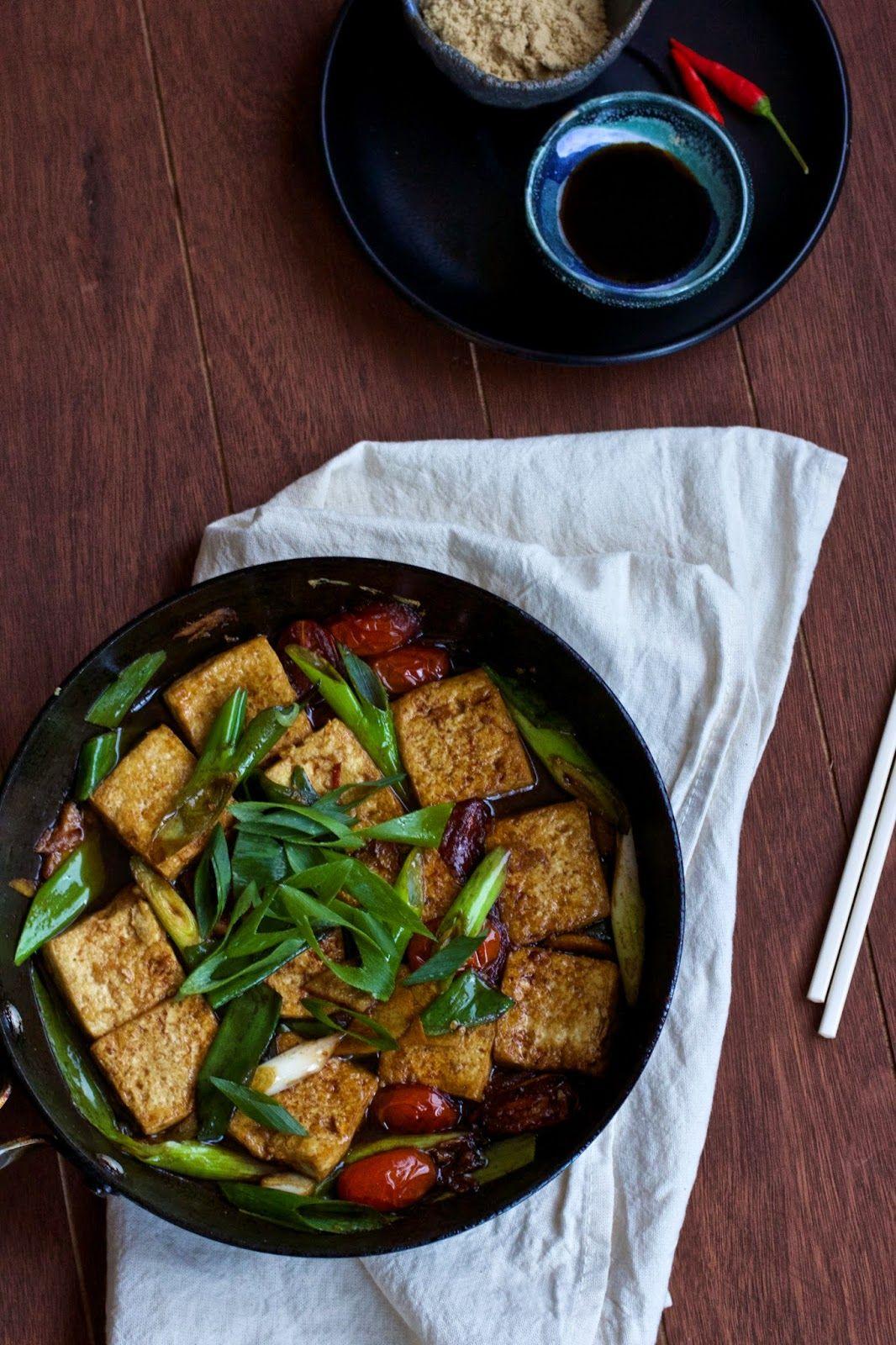 Kylie Kwong S Braised Tofu With Tomatoes Tofu Tomatoes Kyliekwong Tofu Vegetarian Tofu