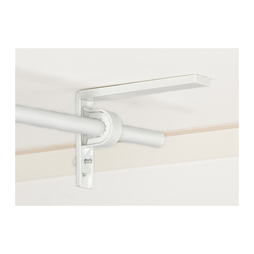Betydlig Wall Ceiling Bracket White Ikea Curtain Rods Ceiling