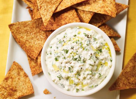 homemade nachos and cottage cheese dip recipe cottage cheese