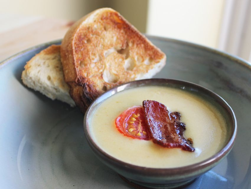 Because you don't have to be in a 100-year-old dining room to scarf a bowlful of melted cheese