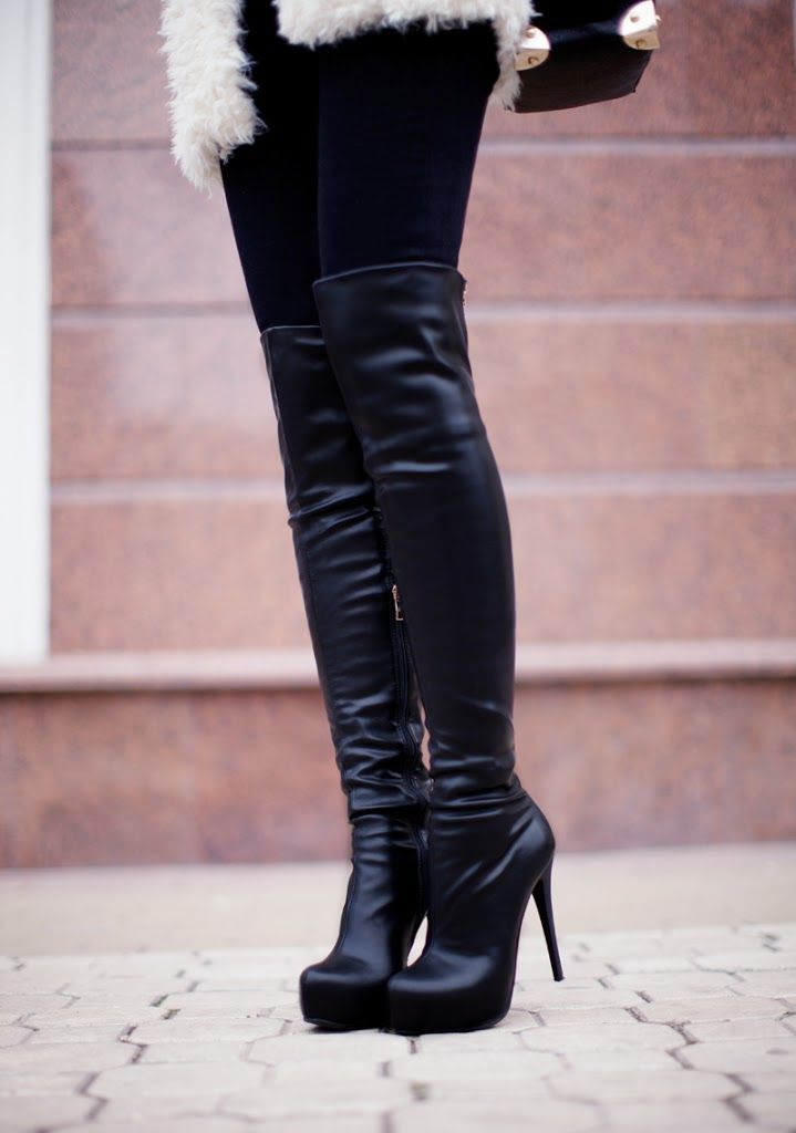 High Boots Outfit
