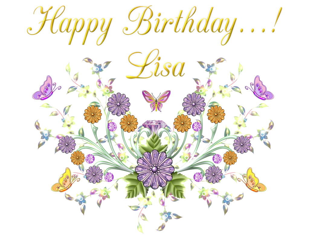Happy Birthday Lisa By Bbvzla On Deviantart Tarjetas