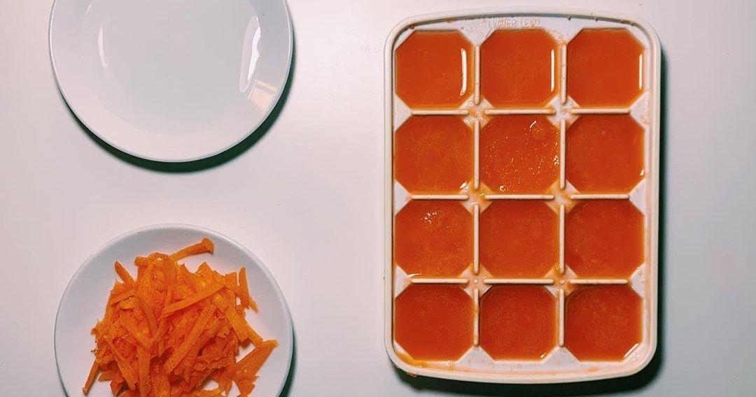 مكعبات الجزر المثلجة لمحاربة حب الشباب والتخلص من البقع Food Waffles Breakfast