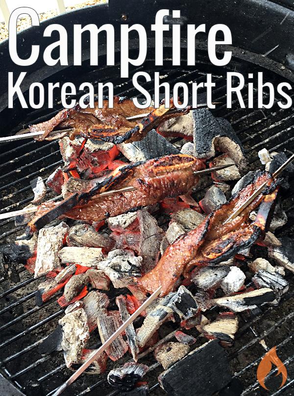 Grilled Kalbi - Korean Short Ribs