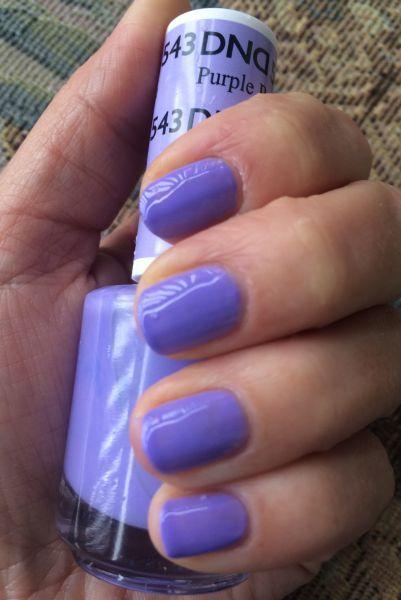 543 Daisy Purple Passion Gel Polish Beauty Nails Dnd Nail Polish Gel Polish
