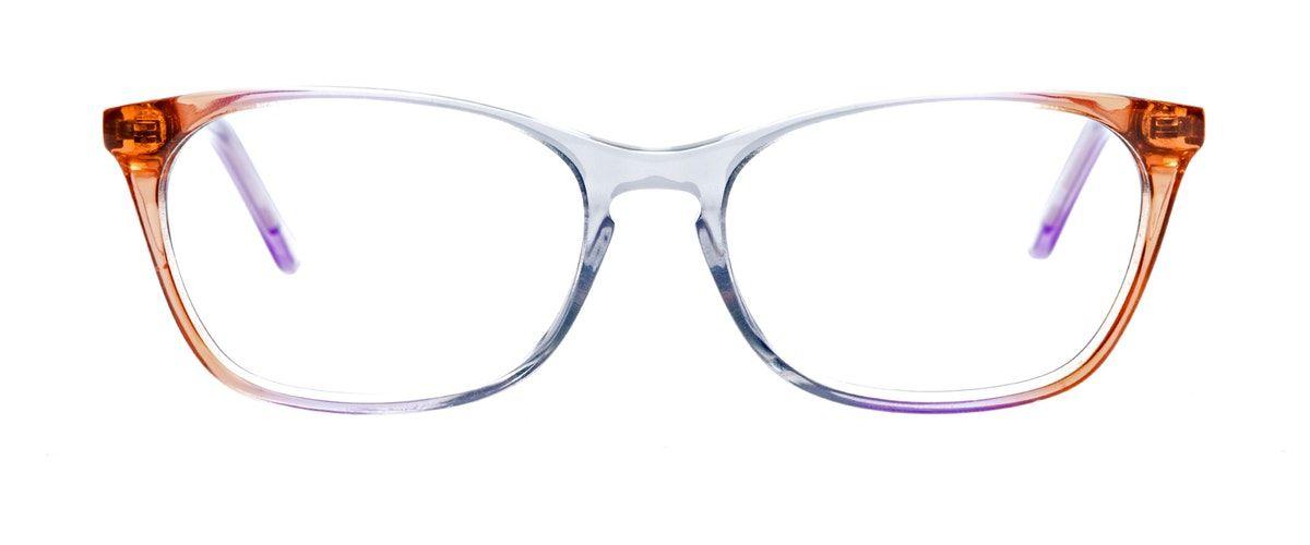 730beb7da0 Affordable Fashion Glasses Cat Eye Rectangle Eyeglasses Women Grace Rainbow  Haze Front