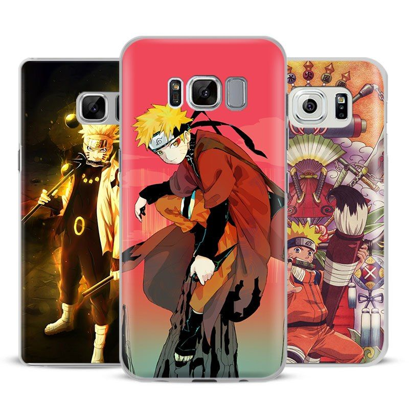 Naruto Uzumaki Phone Case For Samsung Galaxy S4 S5 S6 S7