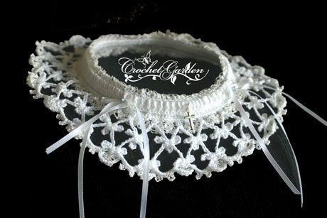 Crochet Wedding Garter Pattern Crochet Bridal Garter Crochet For
