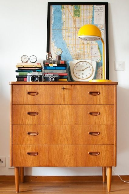 Small Space Vignette: How To Dress Up Your Dresser From